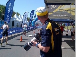 TimO played paparazzi for the weekend with the TAQ tent positioned perfectly on the finish line