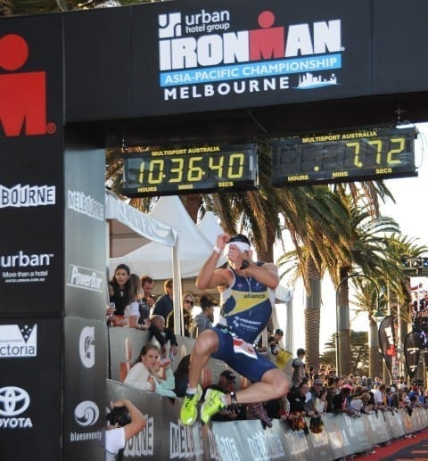 Tri Alliance athletes take on Ironman Melbourne (3)
